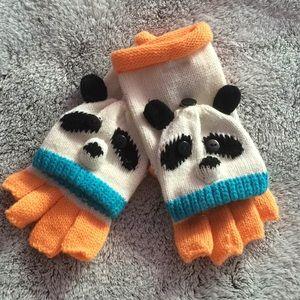 Other - Fingerless Panda Gloves